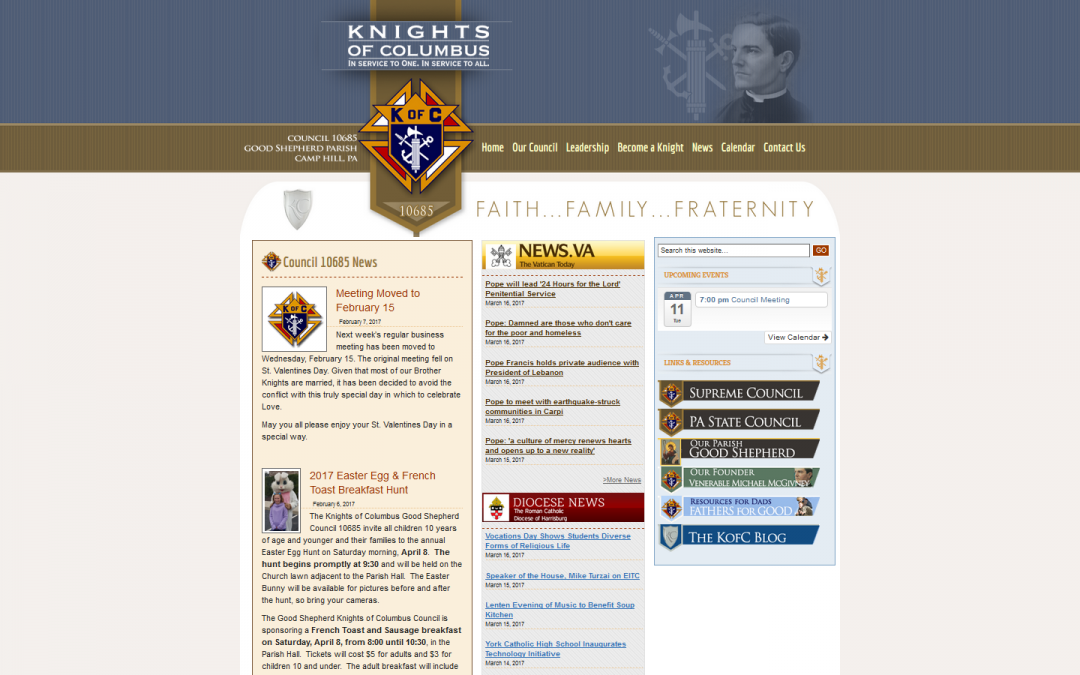 Knight of Columbus Council 10685